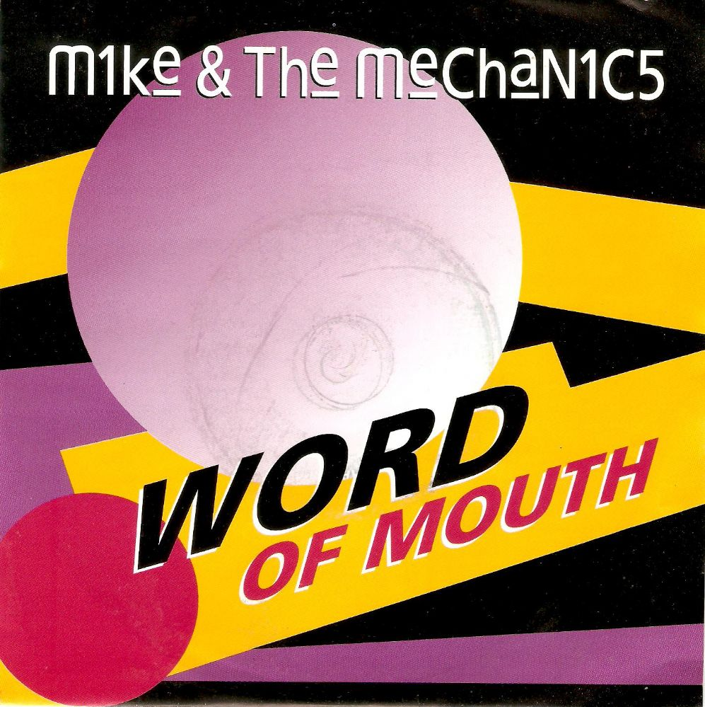 MIKE AND THE MECHANICS Word Of Mouth Vinyl Record 7 Inch Virgin 1991